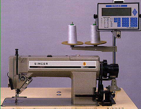 singer industrial sewing machine 591